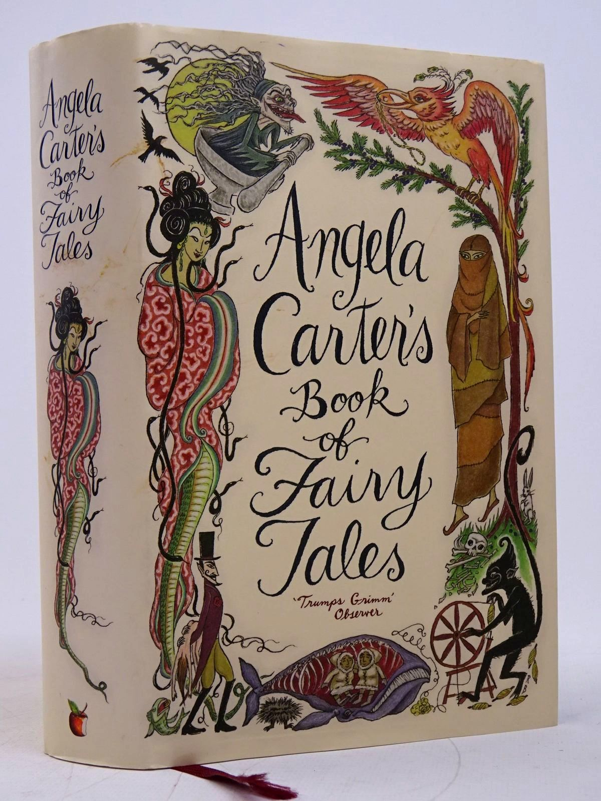 Photo of ANGELA CARTER'S BOOK OF FAIRY TALES written by Carter, Angela illustrated by Sargood, Corinna published by Virago (STOCK CODE: 1817983)  for sale by Stella & Rose's Books