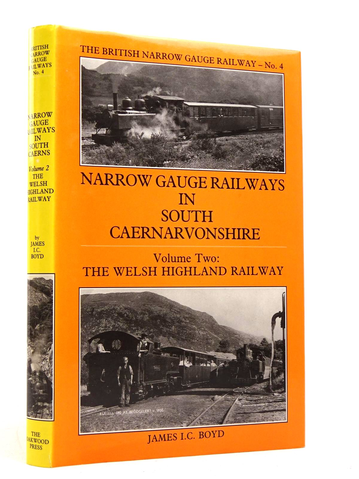 Photo of NARROW GAUGE RAILWAYS IN SOUTH CAERNARVONSHIRE VOLUME 2 written by Boyd, James I.C. published by The Oakwood Press (STOCK CODE: 1818009)  for sale by Stella & Rose's Books