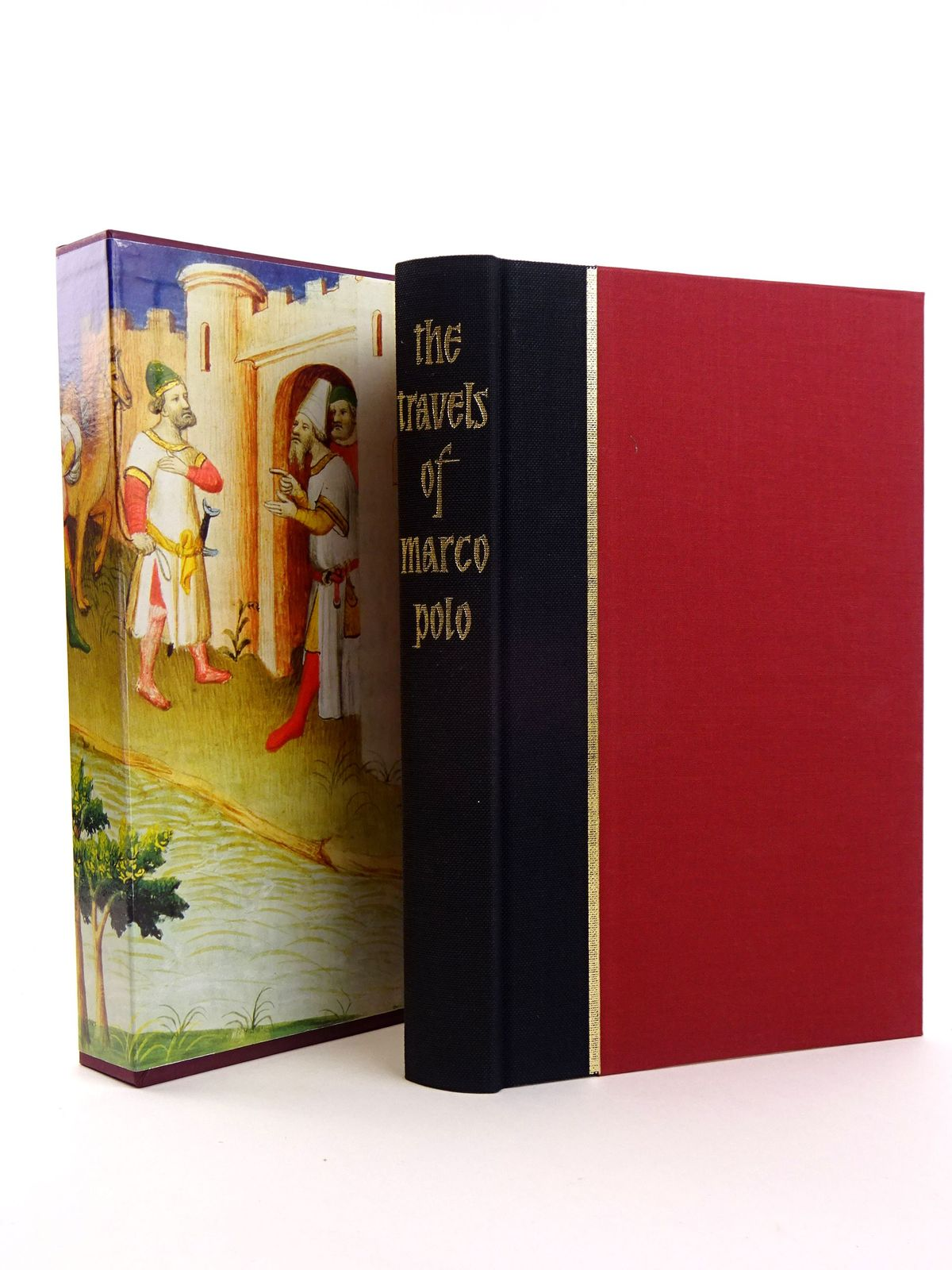 Photo of THE TRAVELS OF MARCO POLO written by Polo, Marco<br />Latham, Ronald published by Folio Society (STOCK CODE: 1818127)  for sale by Stella & Rose's Books