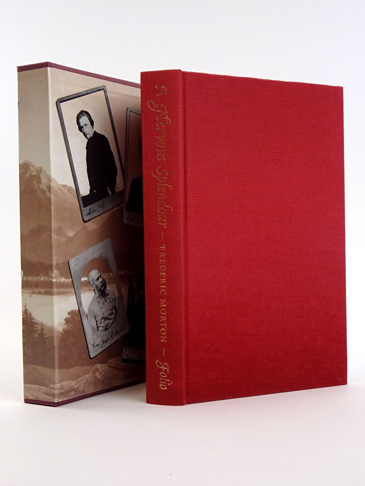 Photo of A NERVOUS SPLENDOR VIENNA 1888-1889 written by Morton, Frederic published by Folio Society (STOCK CODE: 1818138)  for sale by Stella & Rose's Books