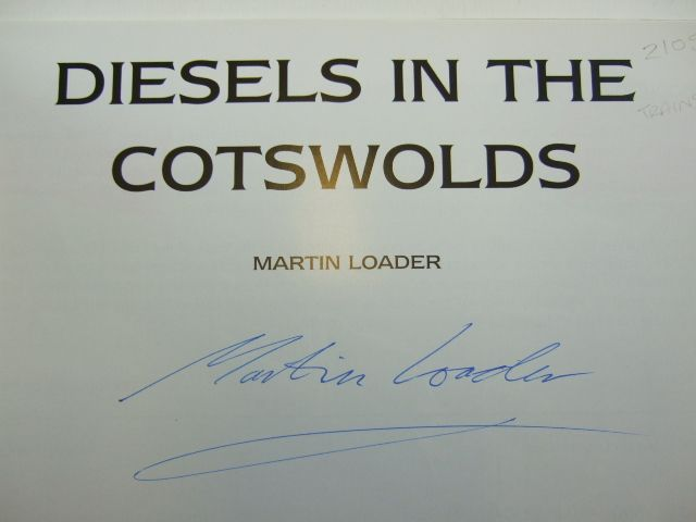 Photo of DIESELS IN THE COTSWOLDS written by Loader, Martin published by Vanguard Publications (STOCK CODE: 2105312)  for sale by Stella & Rose's Books