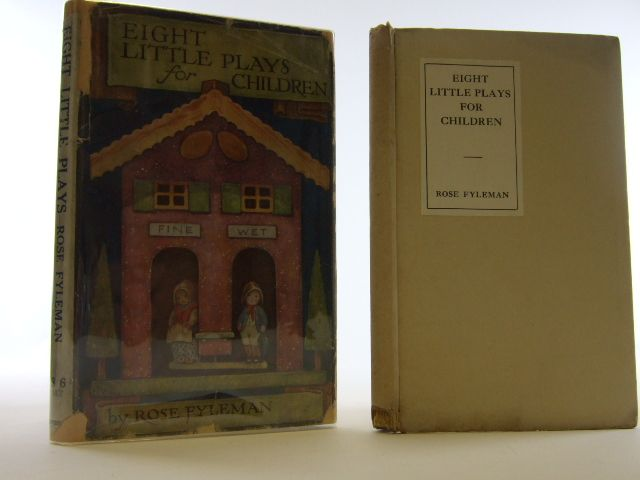Photo of EIGHT LITTLE PLAYS FOR CHILDREN written by Fyleman, Rose published by Methuen & Co. Ltd. (STOCK CODE: 2105432)  for sale by Stella & Rose's Books