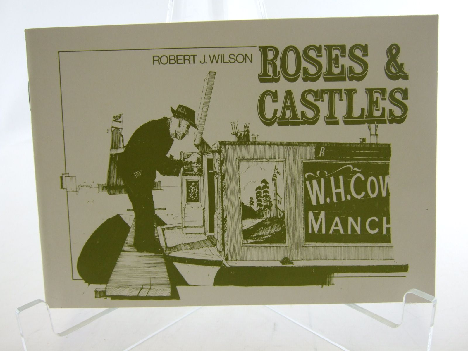 Photo of ROSES & CASTLES written by Wilson, Robert J. published by Robert Wilson (STOCK CODE: 2106401)  for sale by Stella & Rose's Books