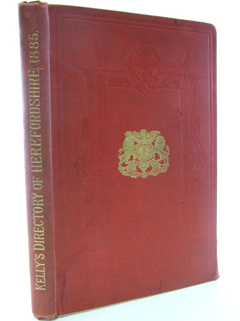 Photo of KELLY'S DIRECTORY OF HEREFORDSHIRE 1885