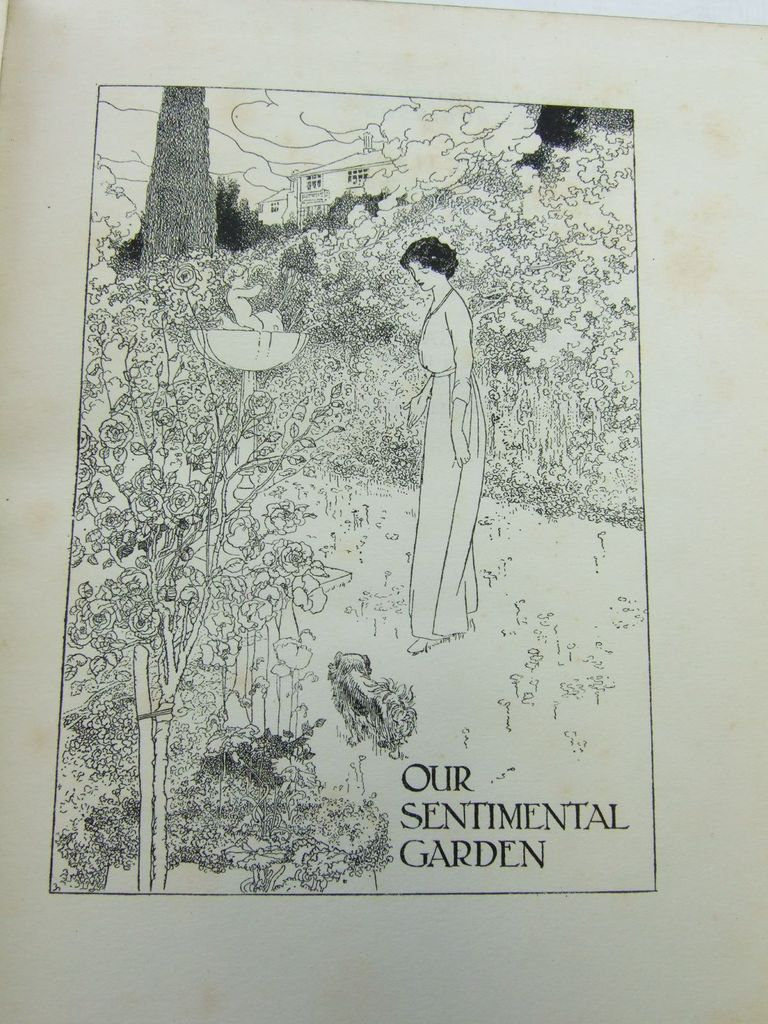 Photo of OUR SENTIMENTAL GARDEN written by Castle, Agnes<br />Castle, Egerton illustrated by Robinson, Charles published by William Heinemann (STOCK CODE: 2106665)  for sale by Stella & Rose's Books