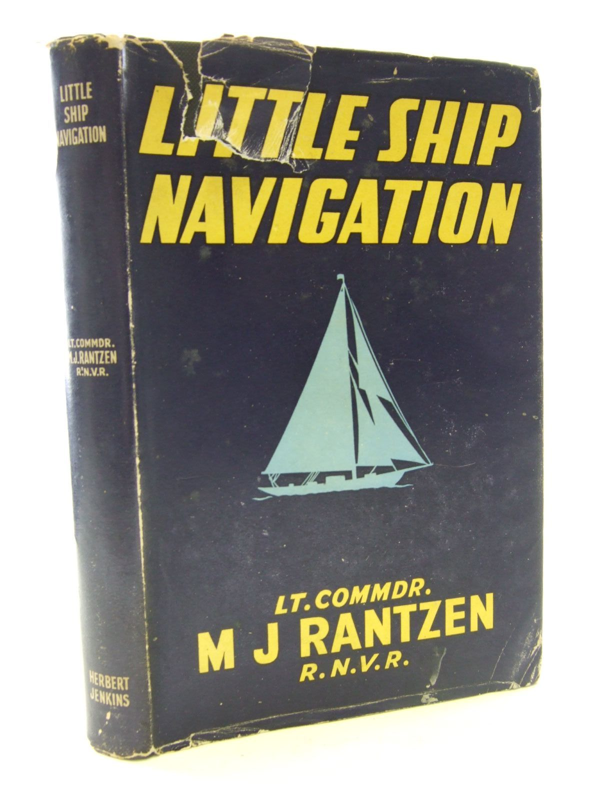 Photo of LITTLE SHIP NAVIGATION written by Rantzen, M.J. published by Herbert Jenkins Limited (STOCK CODE: 2107065)  for sale by Stella & Rose's Books