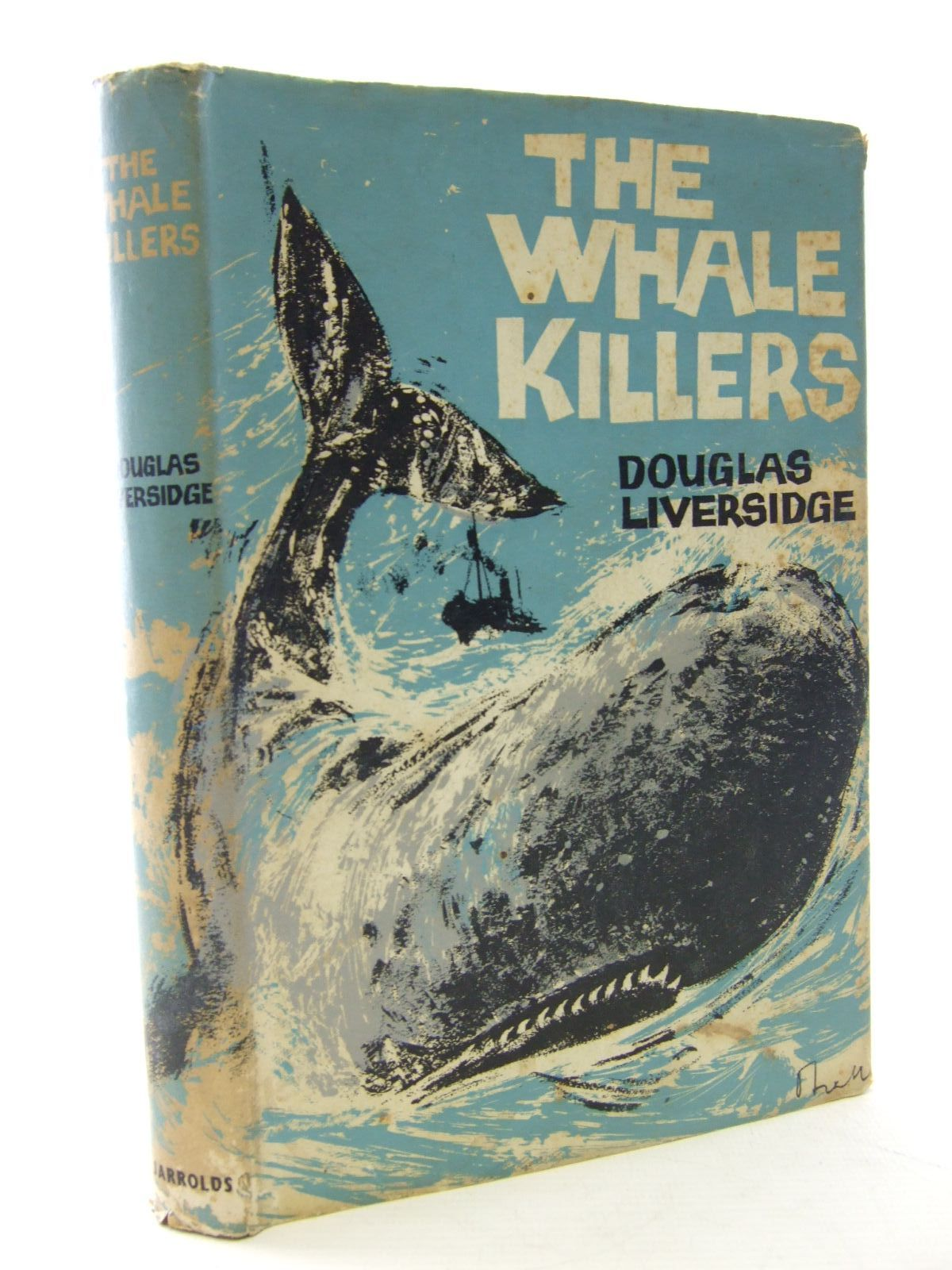 Photo of THE WHALE KILLERS written by Liversidge, Douglas published by Jarrolds (STOCK CODE: 2107069)  for sale by Stella & Rose's Books