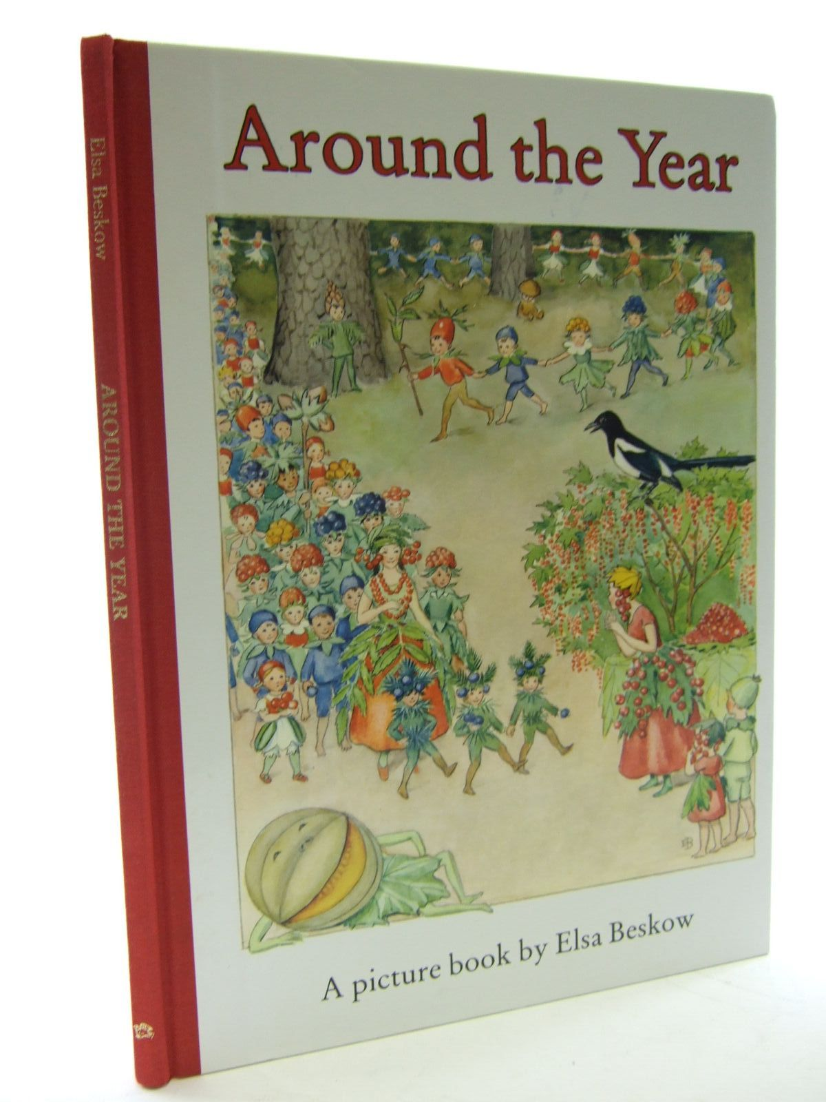 Photo of AROUND THE YEAR written by Beskow, Elsa illustrated by Beskow, Elsa published by Floris Books (STOCK CODE: 2107199)  for sale by Stella & Rose's Books
