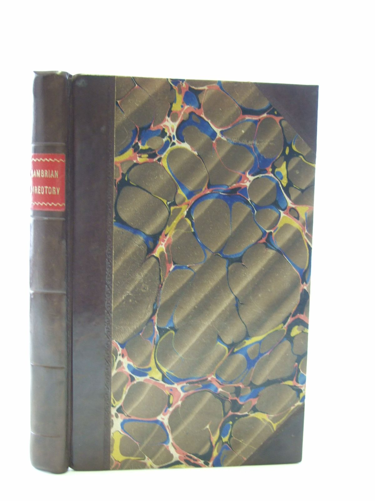 Photo of THE CAMBRIAN DIRECTORY published by J. Easton (STOCK CODE: 2107241)  for sale by Stella & Rose's Books