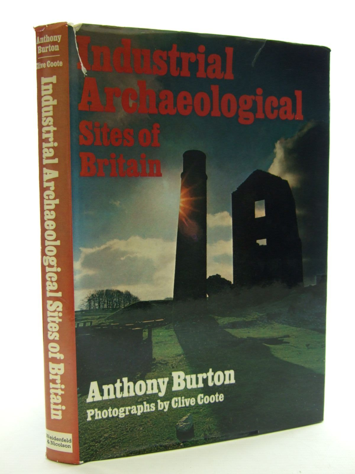Photo of INDUSTRIAL ARCHAEOLOGICAL SITES OF BRITAIN written by Burton, Anthony published by Weidenfeld and Nicolson (STOCK CODE: 2107369)  for sale by Stella & Rose's Books