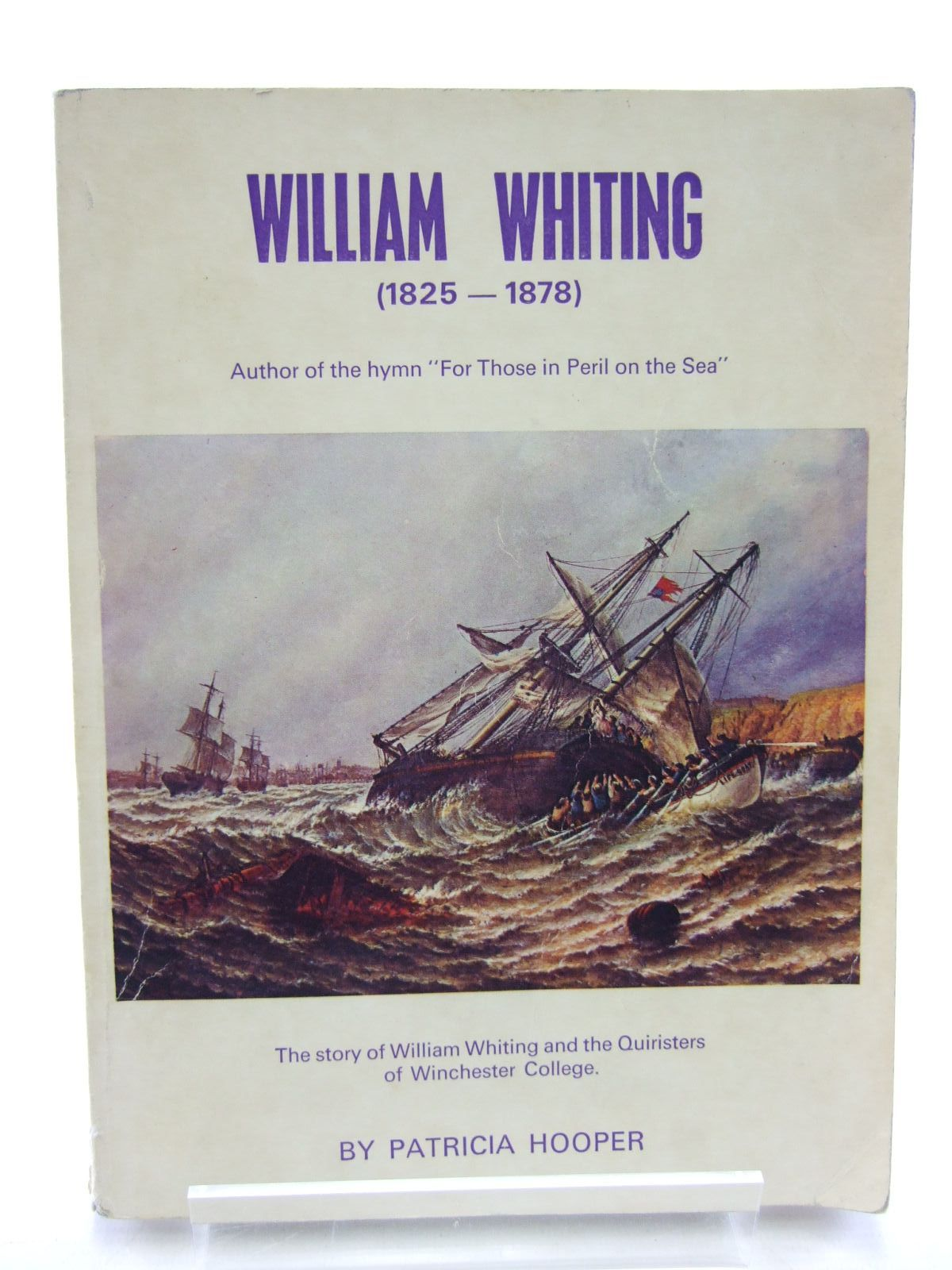 Photo of WILLIAM WHITING (1825 - 1878) written by Hooper, Patricia published by Paul Cave (STOCK CODE: 2107524)  for sale by Stella & Rose's Books