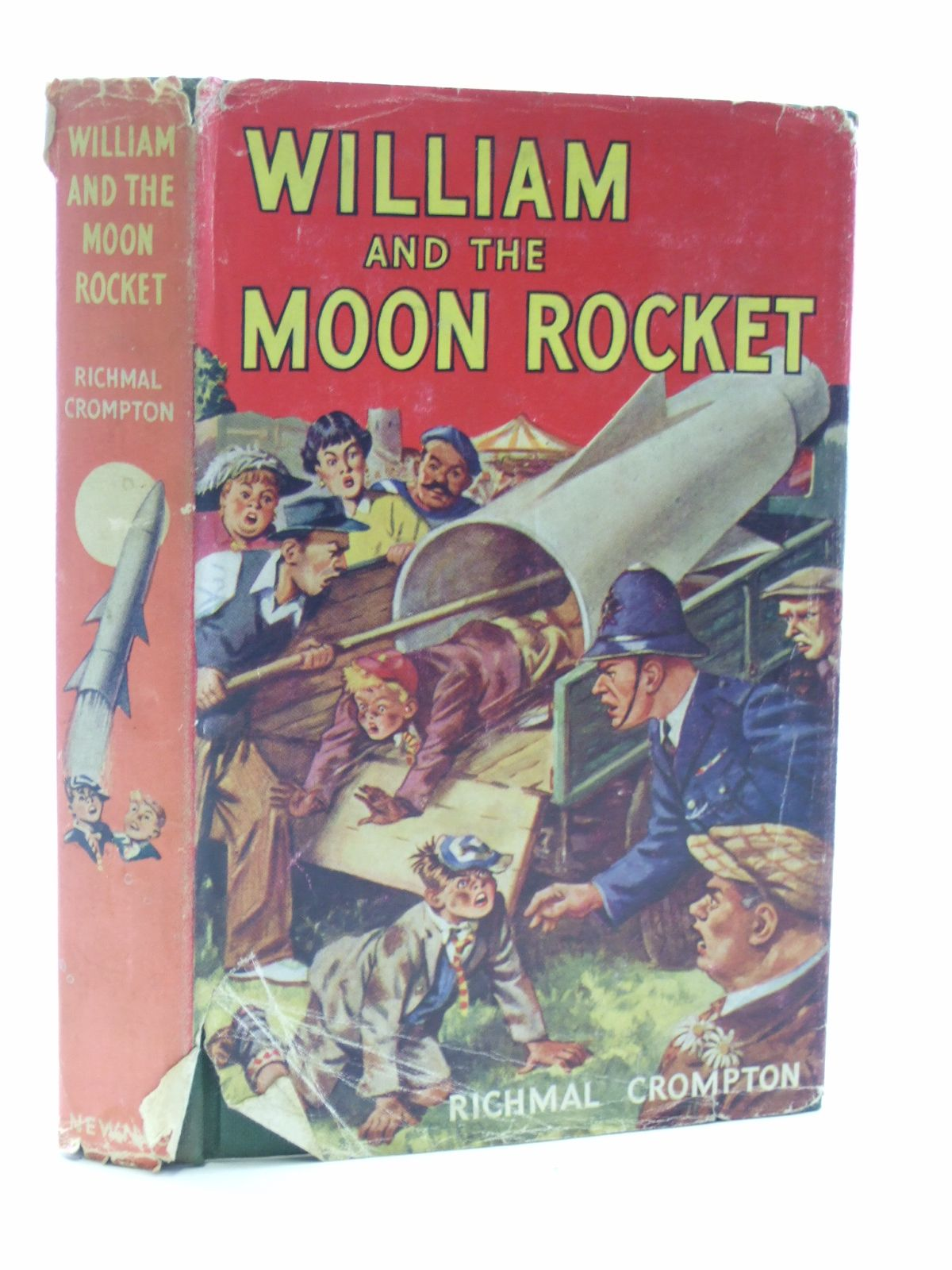 Photo of WILLIAM AND THE MOON ROCKET written by Crompton, Richmal illustrated by Henry, Thomas published by George Newnes Limited (STOCK CODE: 2107742)  for sale by Stella & Rose's Books