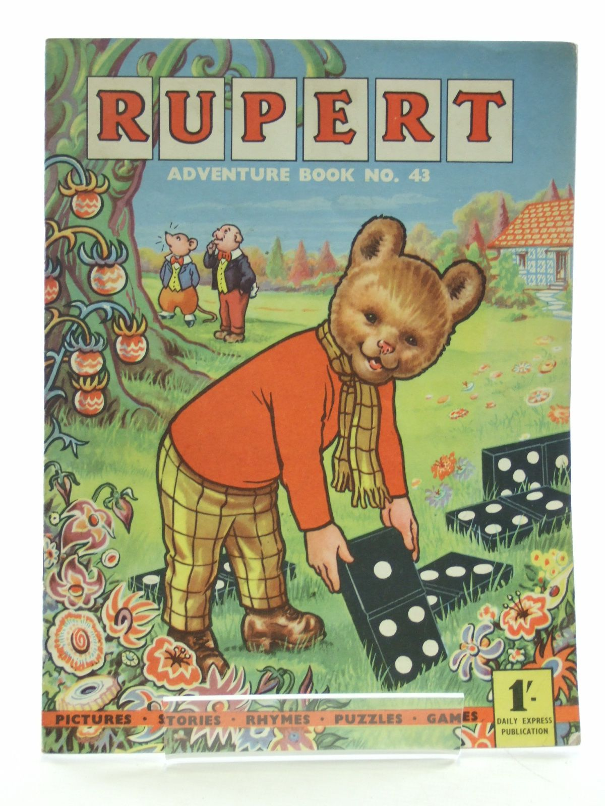 Photo of RUPERT ADVENTURE BOOK No. 43- Stock Number: 2107744