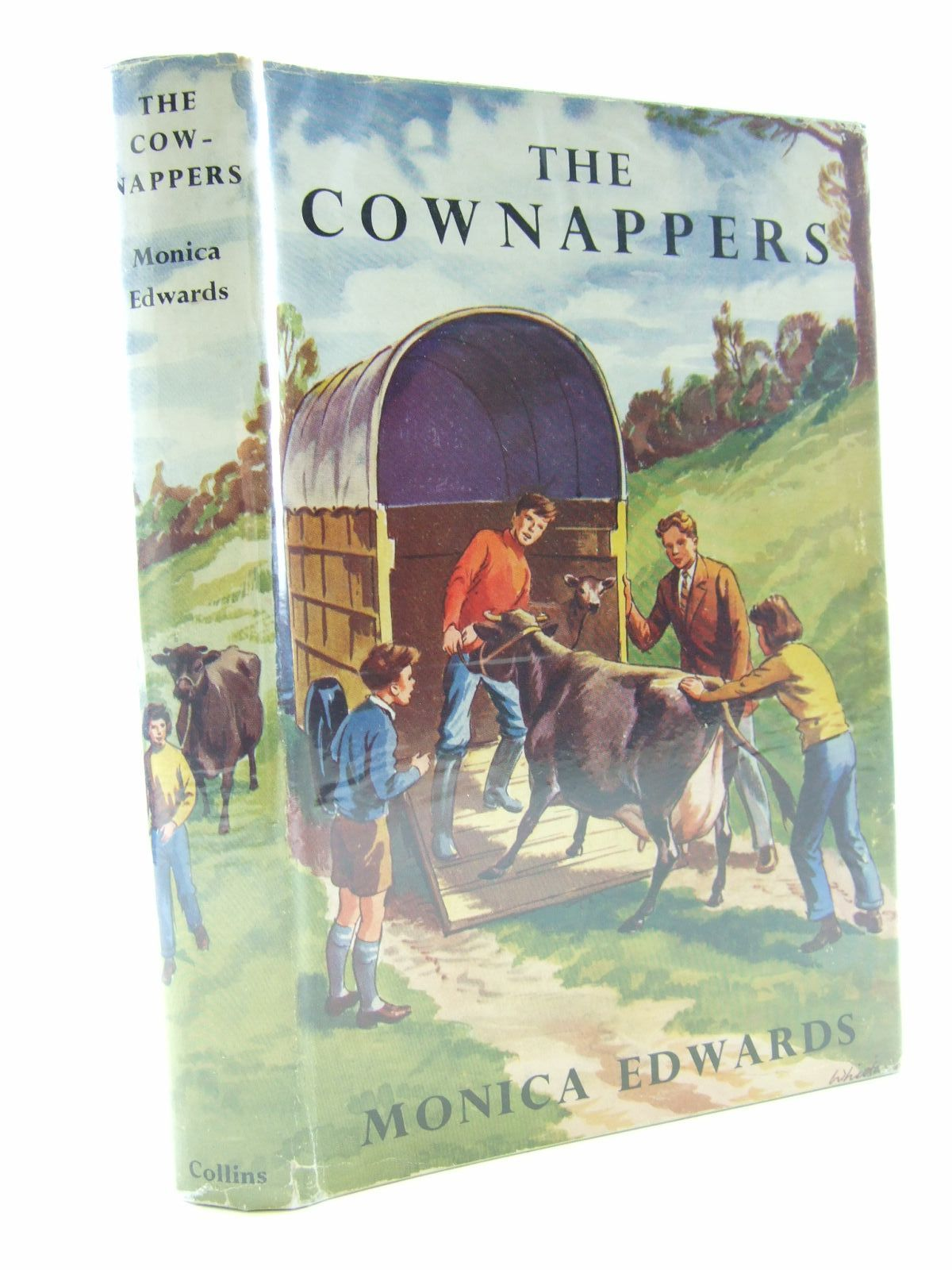 Photo of THE COWNAPPERS written by Edwards, Monica illustrated by Whittam, Geoffrey published by Collins (STOCK CODE: 2108062)  for sale by Stella & Rose's Books