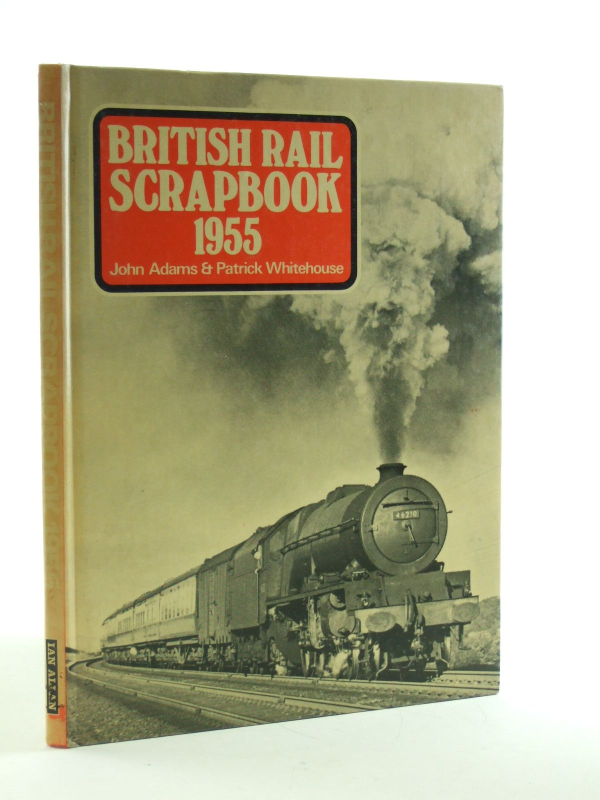 Photo of BRITISH RAIL SCRAPBOOK 1955 written by Adams, John published by Ian Allan (STOCK CODE: 2108262)  for sale by Stella & Rose's Books