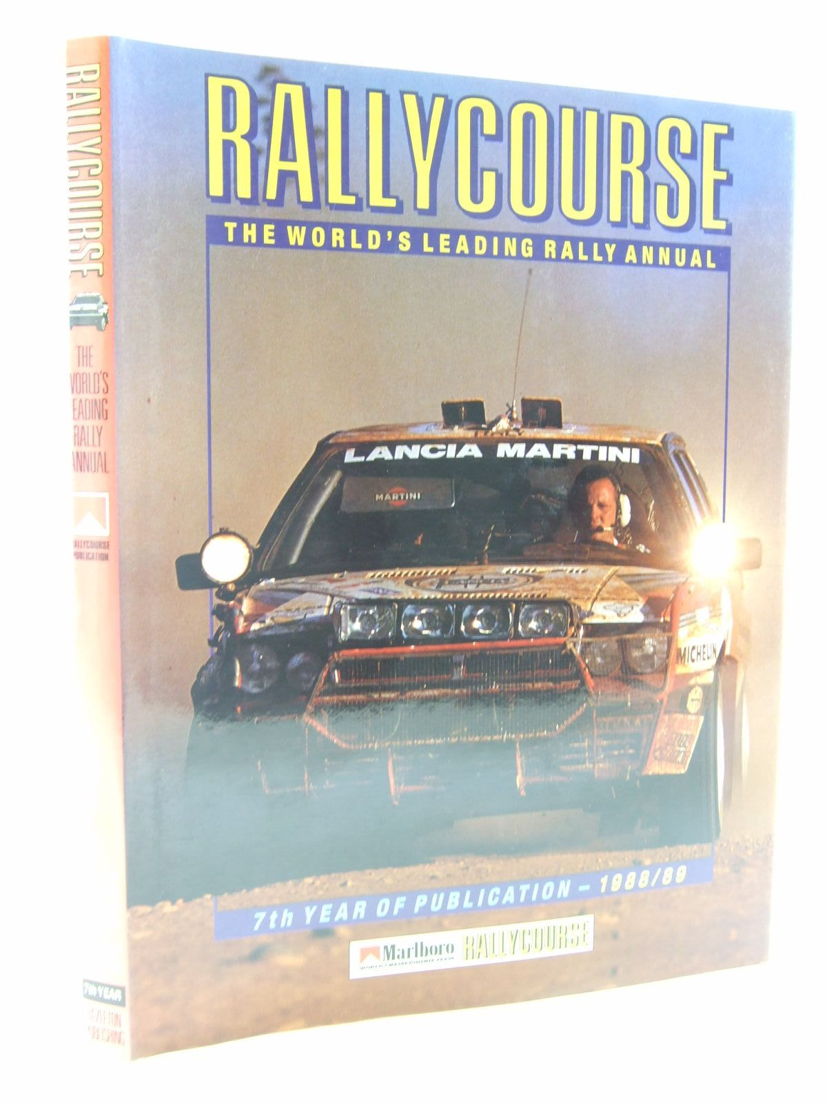 Photo of RALLYCOURSE 1988-89 written by Greasley, Mike published by Hazleton Publishing (STOCK CODE: 2108702)  for sale by Stella & Rose's Books