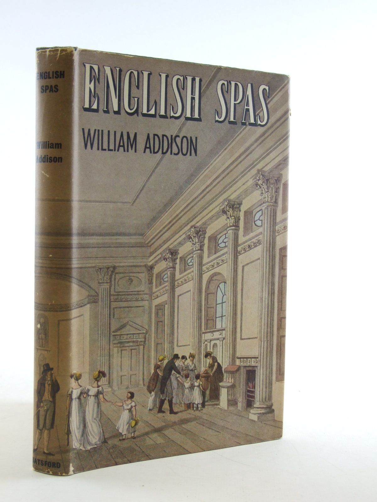 Photo of ENGLISH SPAS written by Addison, William published by B.T. Batsford Ltd. (STOCK CODE: 2108770)  for sale by Stella & Rose's Books