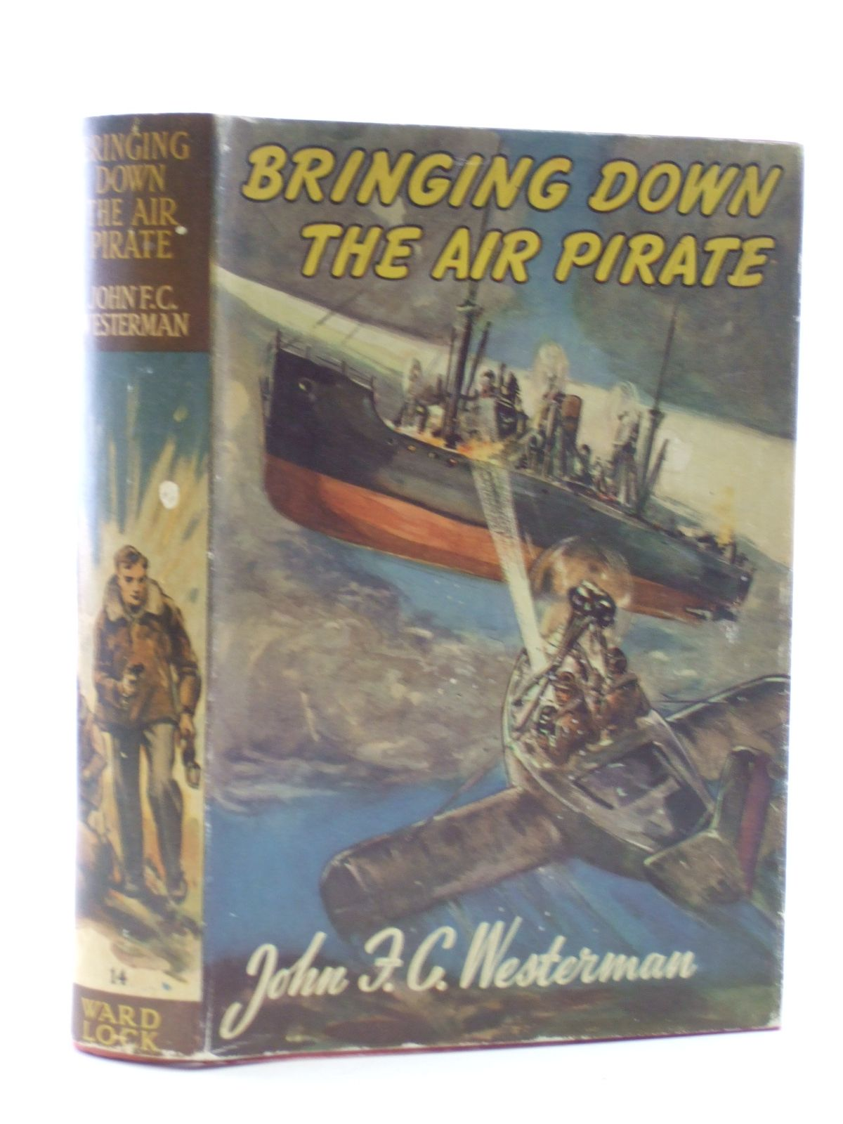 Photo of BRINGING DOWN THE AIR PIRATE written by Westerman, John F.C. published by Ward, Lock & Co. Ltd. (STOCK CODE: 2109087)  for sale by Stella & Rose's Books