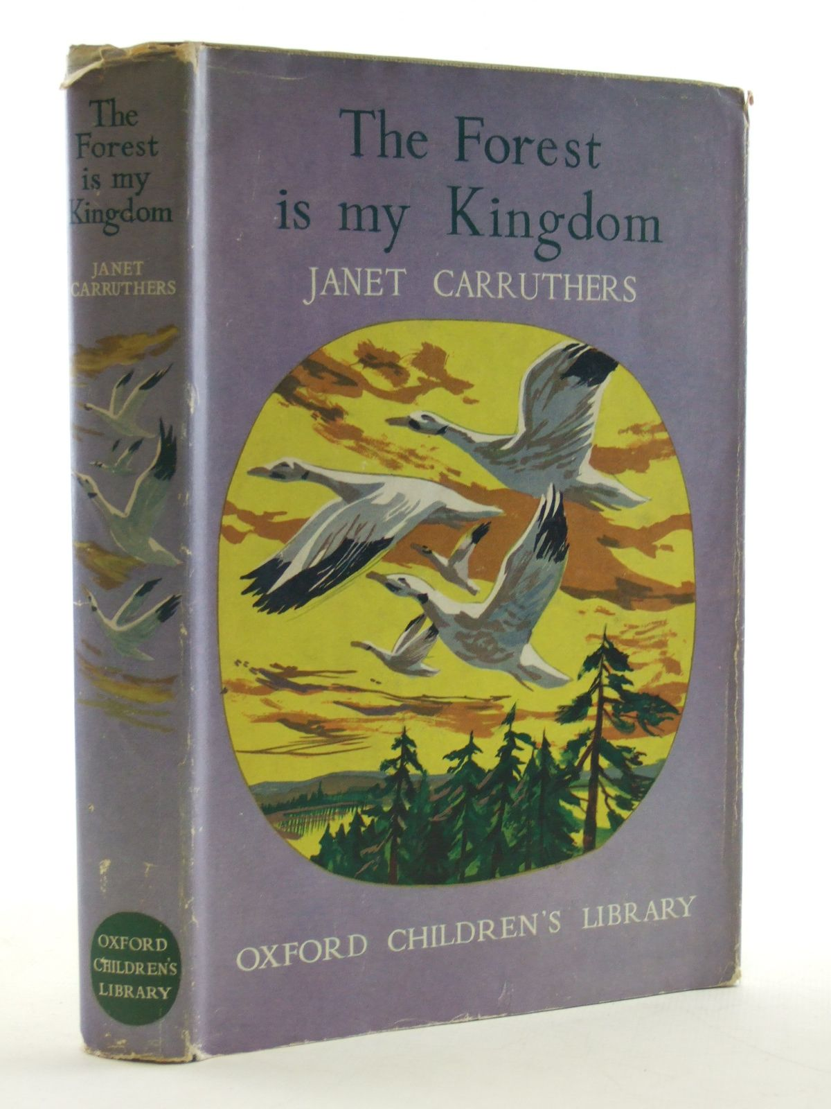 Photo of THE FOREST IS MY KINGDOM written by Carruthers, Janet illustrated by Jobson, P.A. published by Oxford University Press (STOCK CODE: 2109101)  for sale by Stella & Rose's Books
