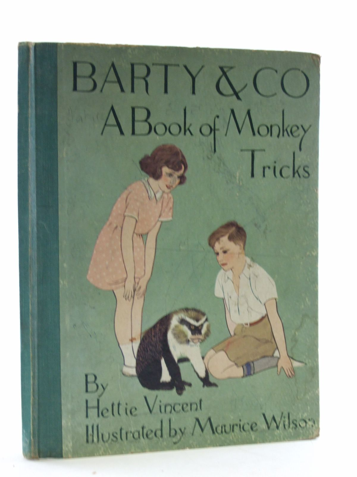 Photo of BARTY & CO. A BOOK OF MONKEY TRICKS written by Vincent, H. illustrated by Wilson, Maurice published by Arandar Books Ltd. (STOCK CODE: 2109127)  for sale by Stella & Rose's Books