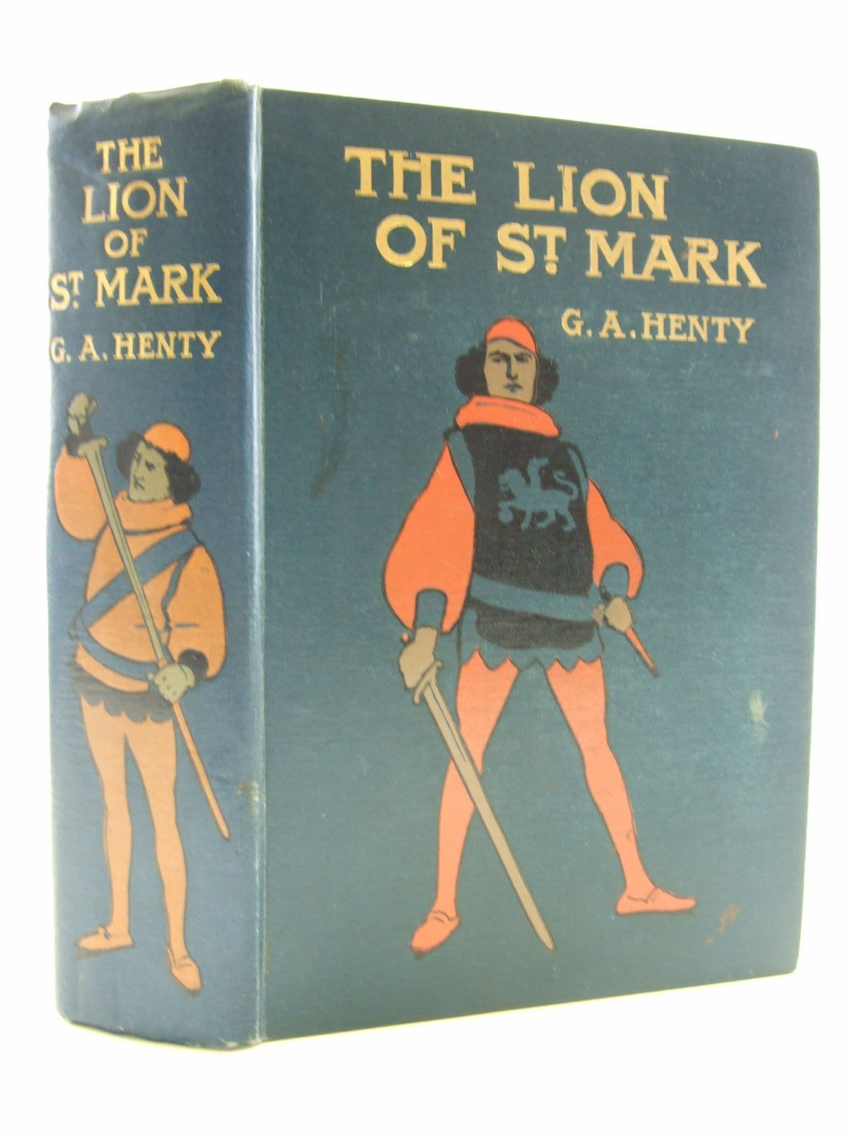 Photo of THE LION OF ST. MARK written by Henty, G.A. published by Blackie & Son Ltd. (STOCK CODE: 2109231)  for sale by Stella & Rose's Books