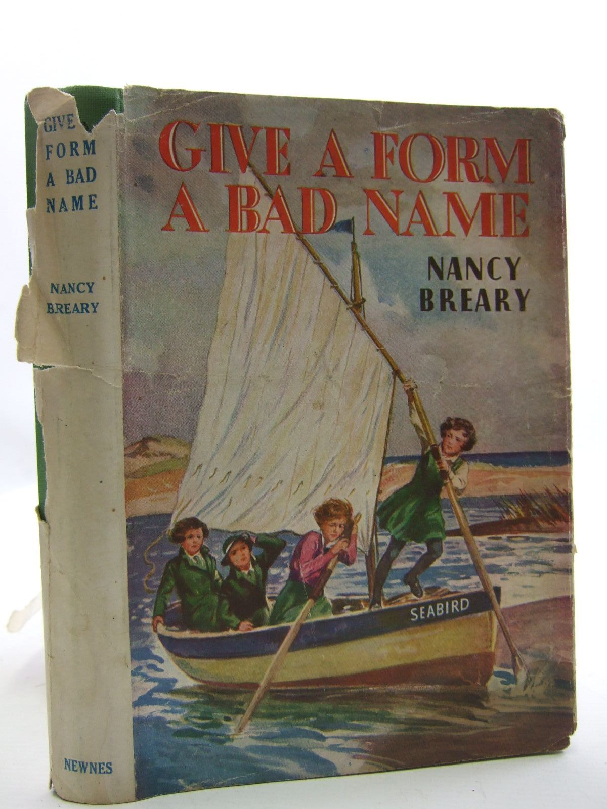 Photo of GIVE A FORM A BAD NAME written by Breary, Nancy published by George Newnes Limited (STOCK CODE: 2109326)  for sale by Stella & Rose's Books