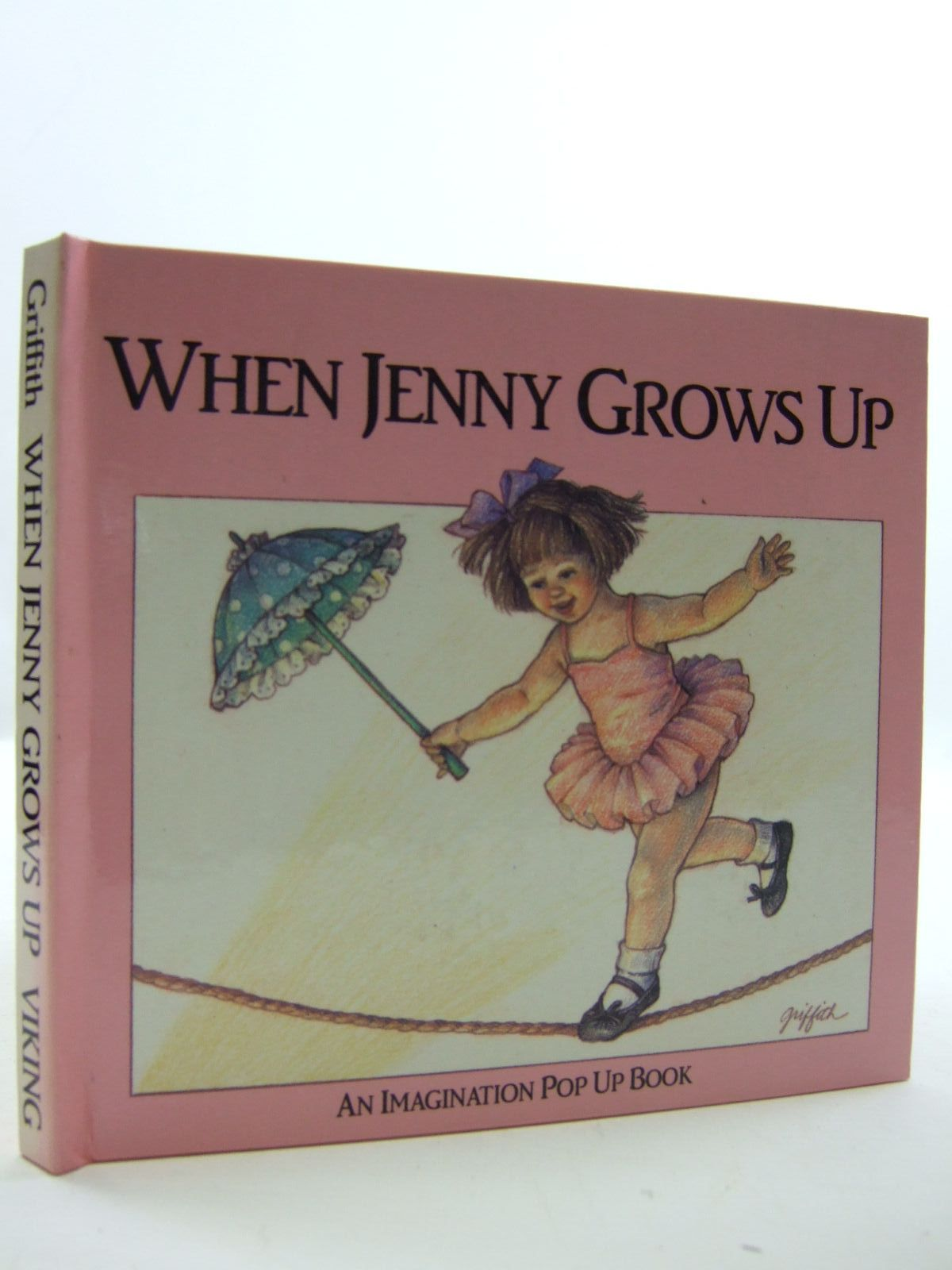 Photo of WHEN JENNY GROWS UP written by Dudley, Dick illustrated by Griffith, Linda Hill published by Viking (STOCK CODE: 2109373)  for sale by Stella & Rose's Books