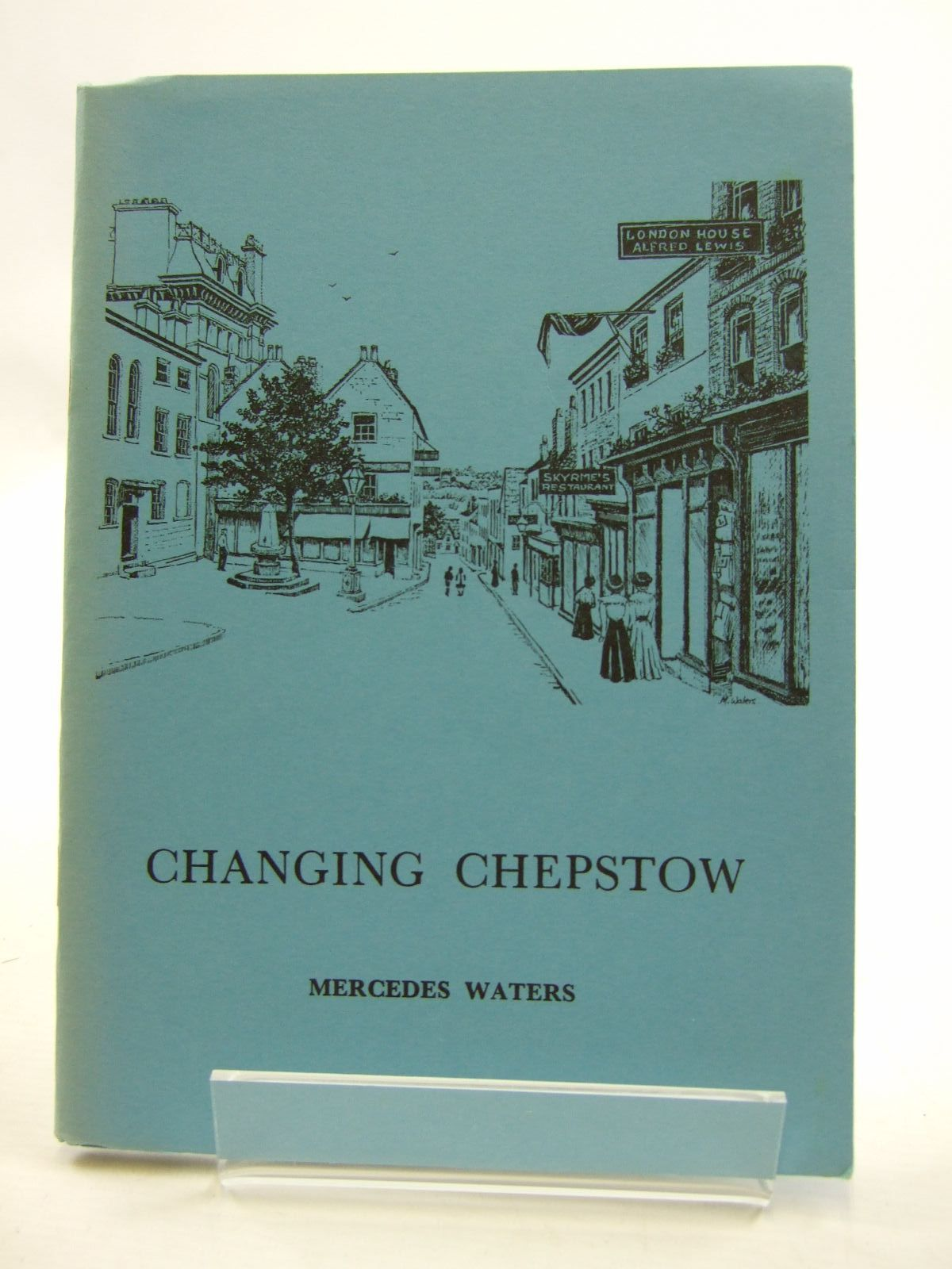 Photo of CHANGING CHEPSTOW written by Waters, Mercedes illustrated by Waters, Mercedes published by The Chepstow Society (STOCK CODE: 2109386)  for sale by Stella & Rose's Books