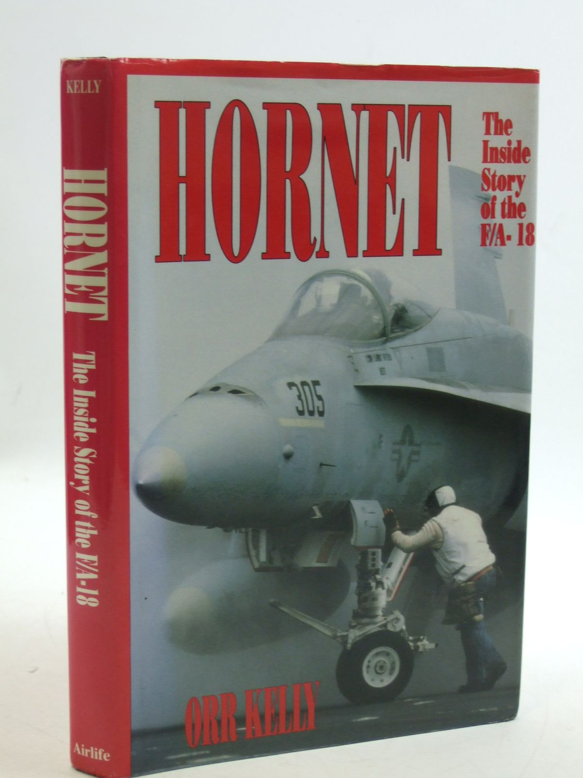 Photo of HORNET written by Kelly, Orr published by Airlife (STOCK CODE: 2109630)  for sale by Stella & Rose's Books