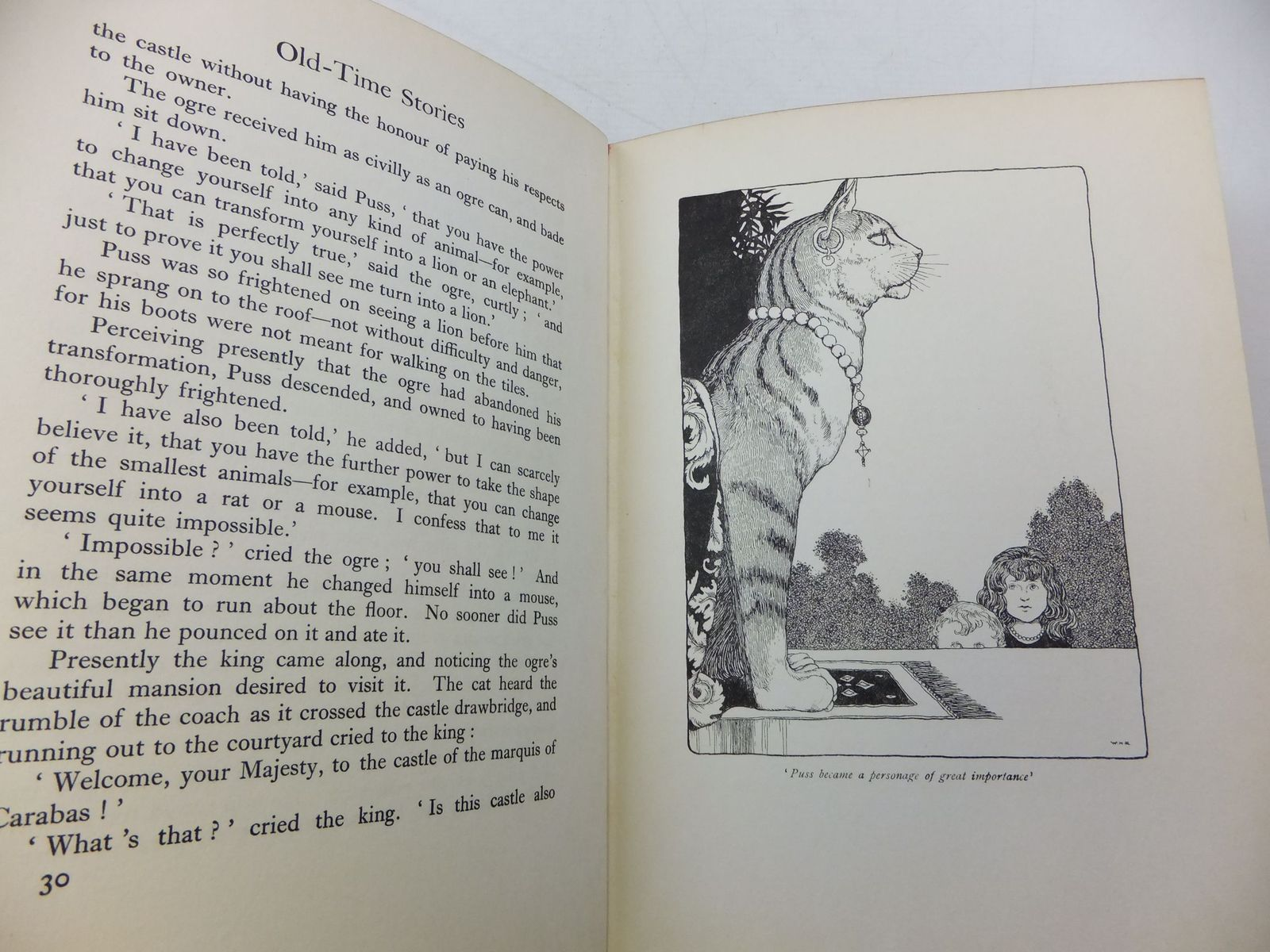 Photo of OLD-TIME STORIES written by Perrault, Charles illustrated by Robinson, W. Heath published by Constable & Co. Ltd. (STOCK CODE: 2110319)  for sale by Stella & Rose's Books