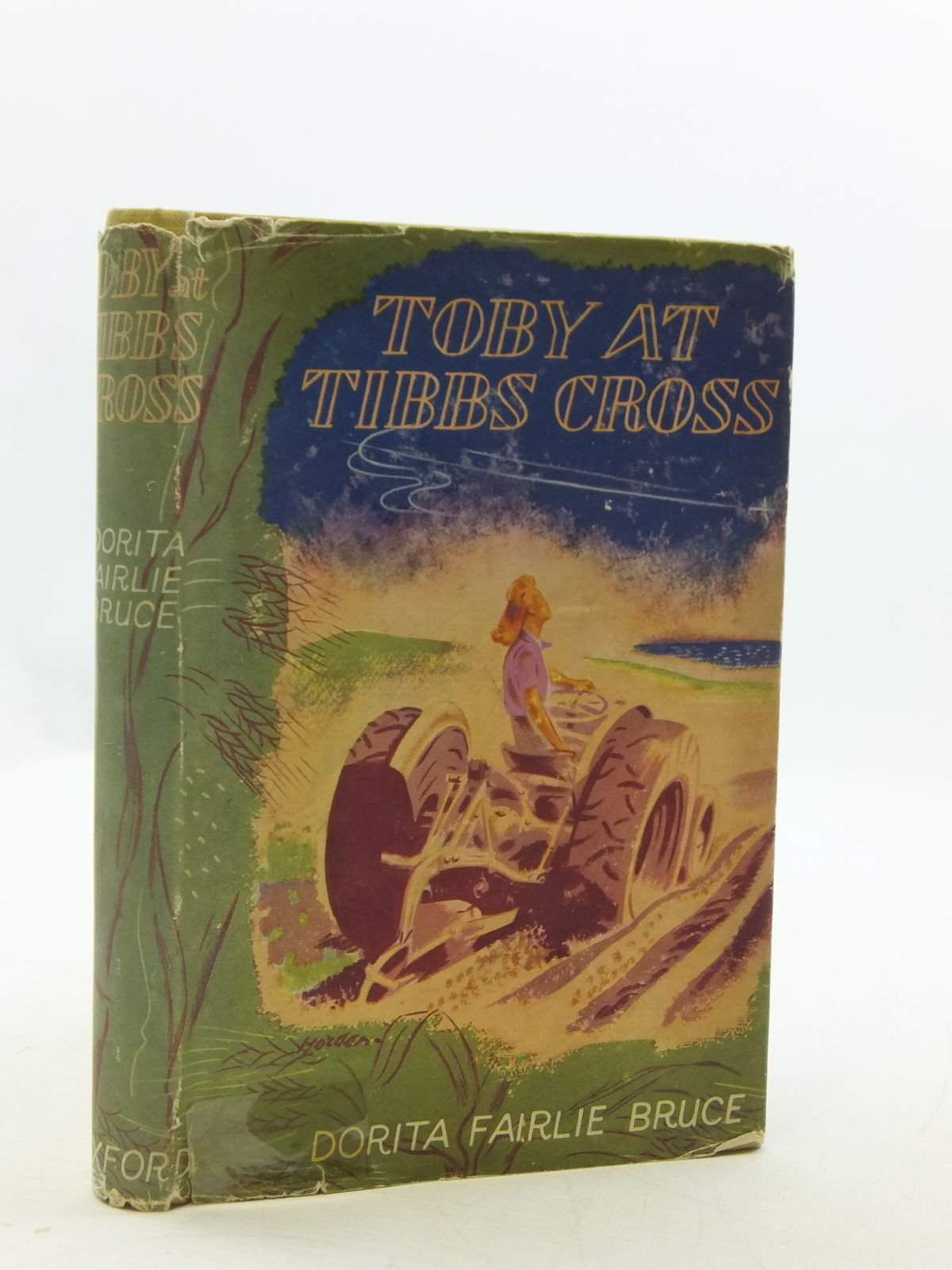 Photo of TOBY AT TIBBS CROSS written by Bruce, Dorita Fairlie illustrated by Horder, Margaret published by Oxford University Press, Humphrey Milford (STOCK CODE: 2110602)  for sale by Stella & Rose's Books