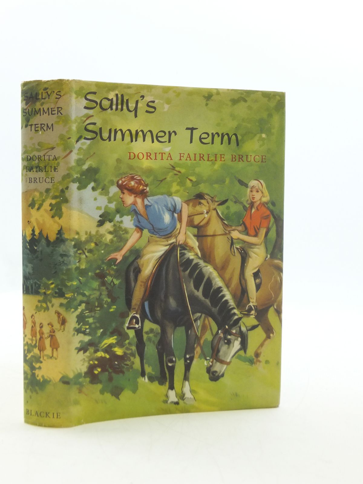 Photo of SALLY'S SUMMER TERM written by Bruce, Dorita Fairlie illustrated by Thompson, Joan published by Blackie (STOCK CODE: 2110623)  for sale by Stella & Rose's Books