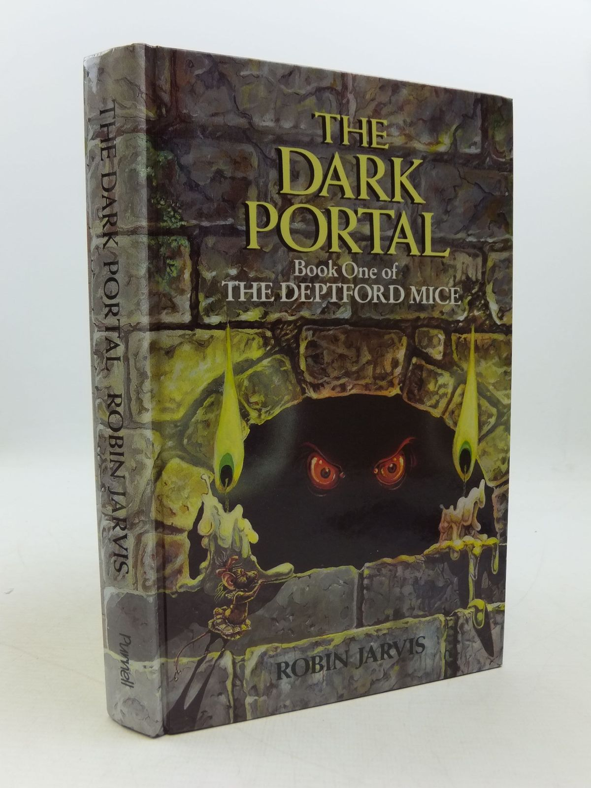 Photo of THE DARK PORTAL written by Jarvis, Robin illustrated by Jarvis, Robin published by Purnell (STOCK CODE: 2110933)  for sale by Stella & Rose's Books