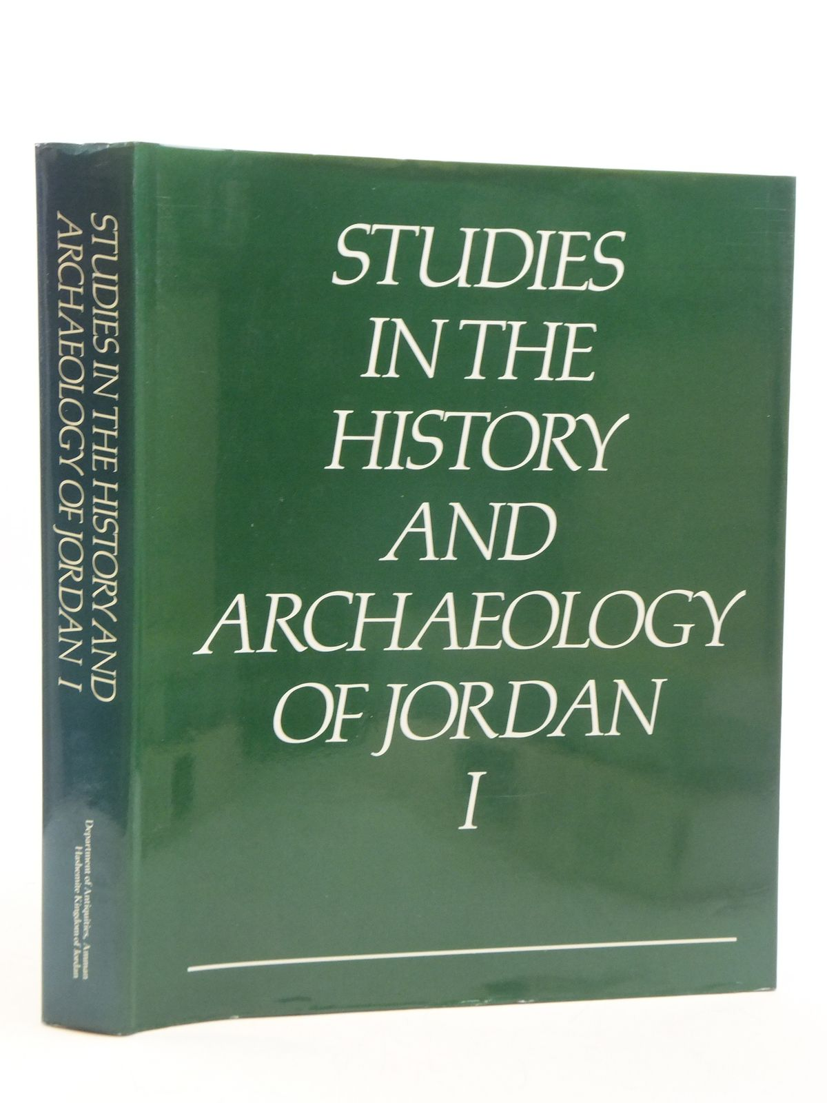 Photo of STUDIES IN THE HISTORY AND ARCHAEOLOGY OF JORDAN I written by Hadidi, Adnan published by Department Of Antiquities, Amman (STOCK CODE: 2111293)  for sale by Stella & Rose's Books