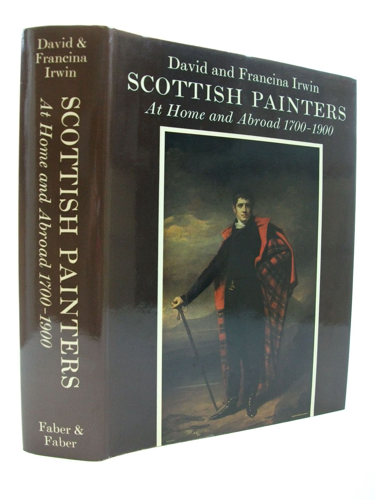 Photo of SCOTTISH PAINTERS AT HOME AND ABROAD 1700-1900 written by Irwin, David<br />Irwin, Francina published by Faber & Faber (STOCK CODE: 2111386)  for sale by Stella & Rose's Books