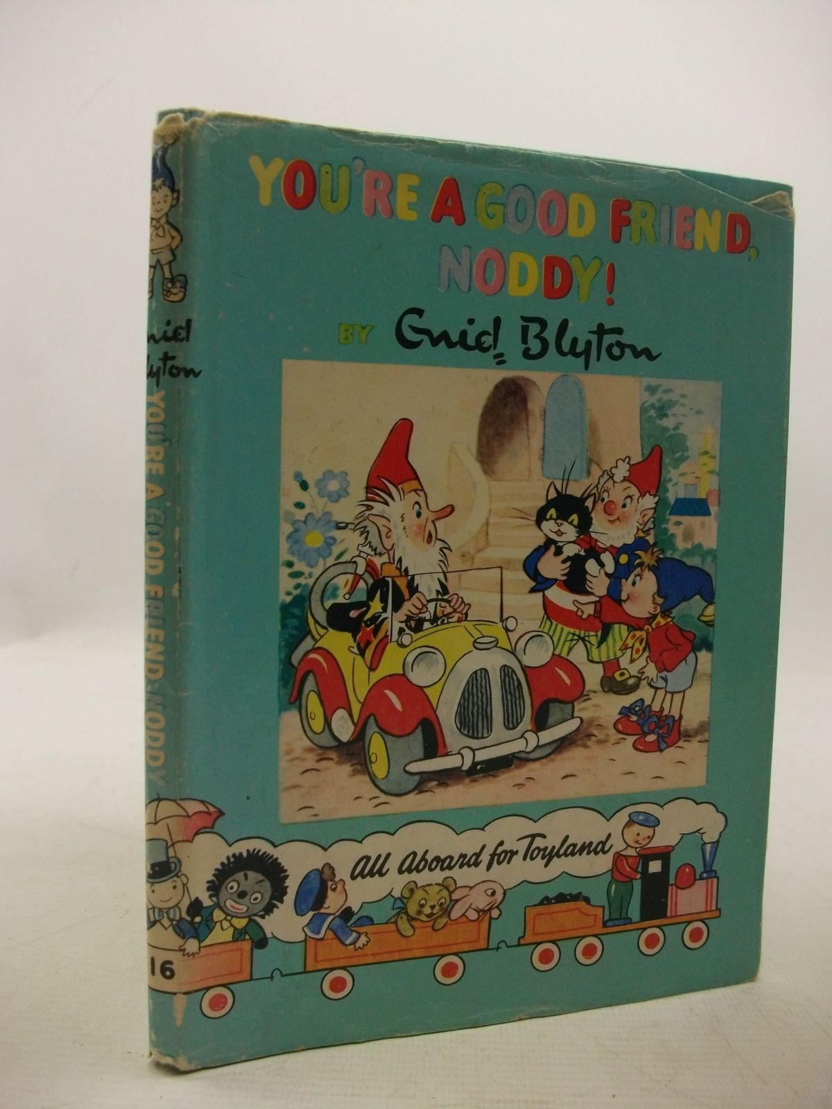 Photo of YOU'RE A GOOD FRIEND NODDY! written by Blyton, Enid published by Sampson Low, Marston & Co., The Richards Press Ltd. (STOCK CODE: 2111424)  for sale by Stella & Rose's Books