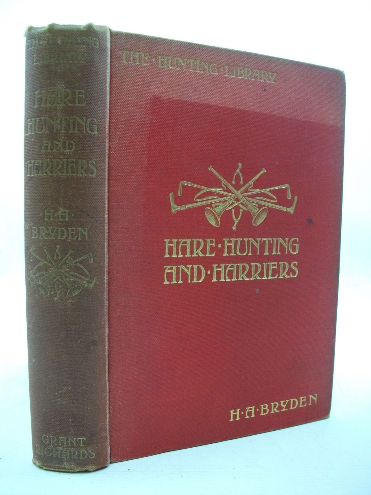 Photo of HARE-HUNTING AND HARRIERS