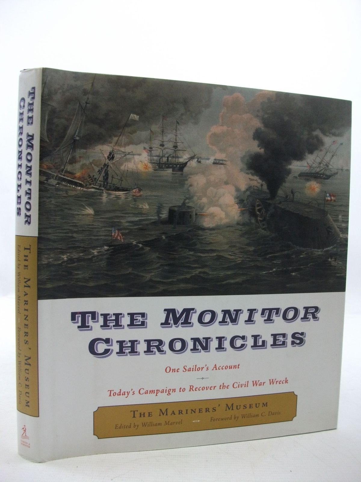Photo of THE MONITOR CHRONICLES ONE SAILOR'S ACCOUNT written by Marvel, William published by Simon & Schuster (STOCK CODE: 2111465)  for sale by Stella & Rose's Books