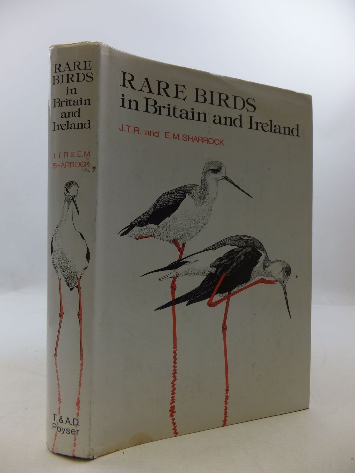 Photo of RARE BIRDS IN BRITAIN AND IRELAND written by Sharrock, J.T.R.<br />Sharrock, E.M. illustrated by Gillmor, Robert<br />et al.,  published by T. & A.D. Poyser (STOCK CODE: 2111479)  for sale by Stella & Rose's Books