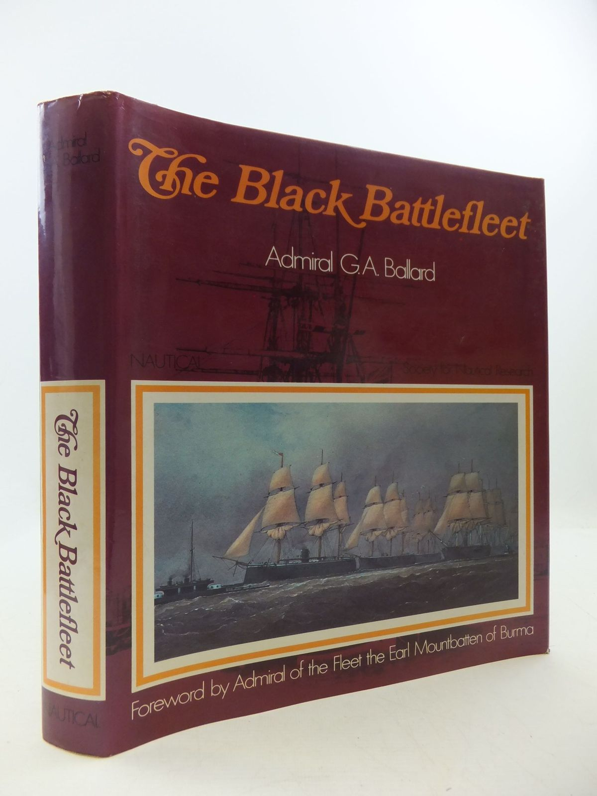 Photo of THE BLACK BATTLEFLEET written by Ballard, G.A. published by Nautical Publishing Company (STOCK CODE: 2111533)  for sale by Stella & Rose's Books