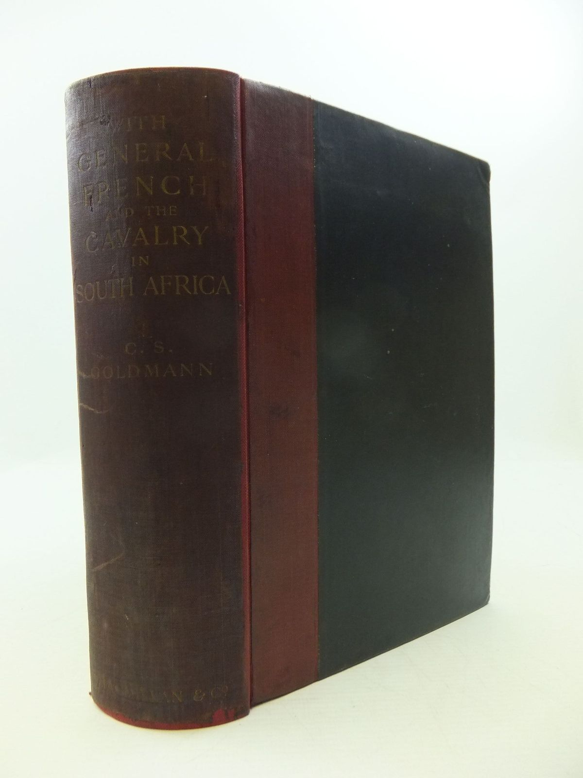Photo of WITH GENERAL FRENCH AND THE CAVALRY IN SOUTH AFRICA written by Goldmann, Charles Sydney published by Macmillan & Co. Ltd. (STOCK CODE: 2111576)  for sale by Stella & Rose's Books
