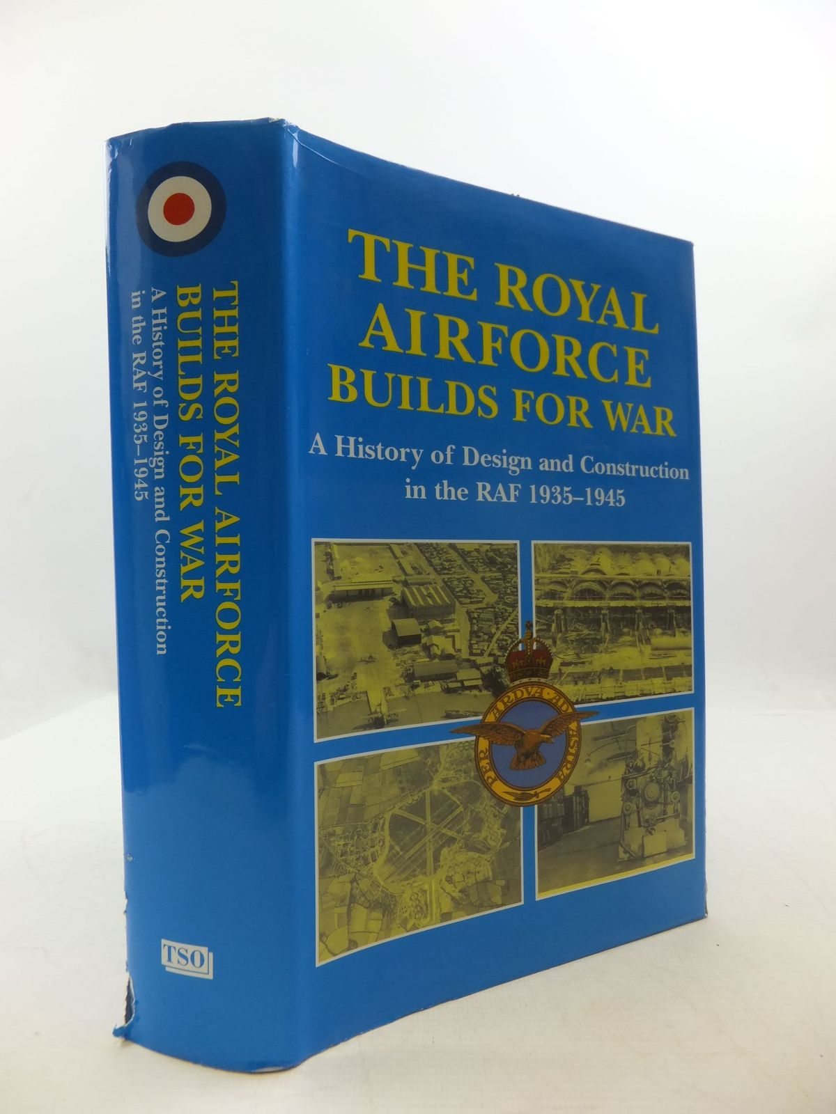 Photo of THE ROYAL AIRFORCE BUILDS FOR WAR