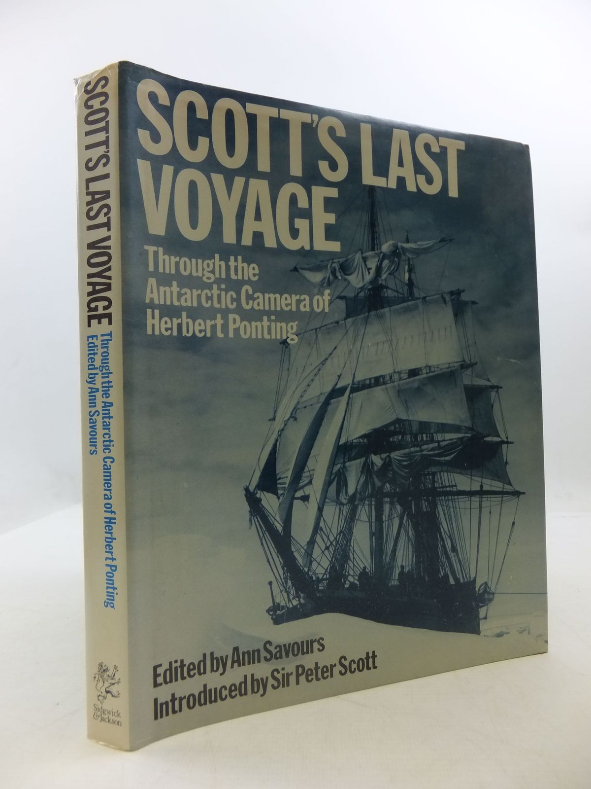 Photo of SCOTT'S LAST VOYAGE THROUGH THE ANTARCTIC CAMERA OF HERBERT PONTING