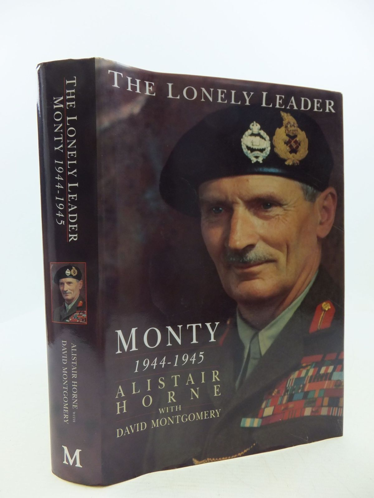 Photo of THE LONELY LEADER MONTY 1944-1945
