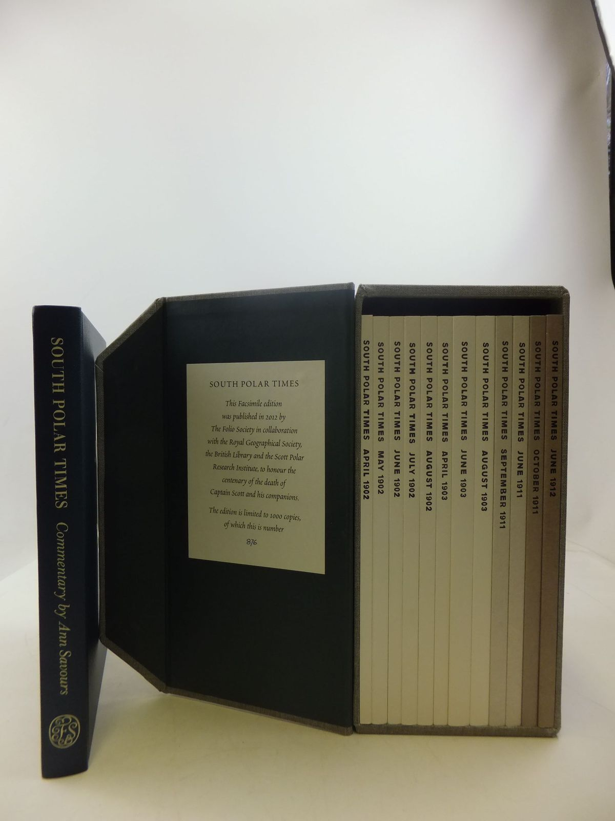 Photo of SOUTH POLAR TIMES (FACSIMILE EDITION IN 12 VOLUMES WITH COMMENTARY)