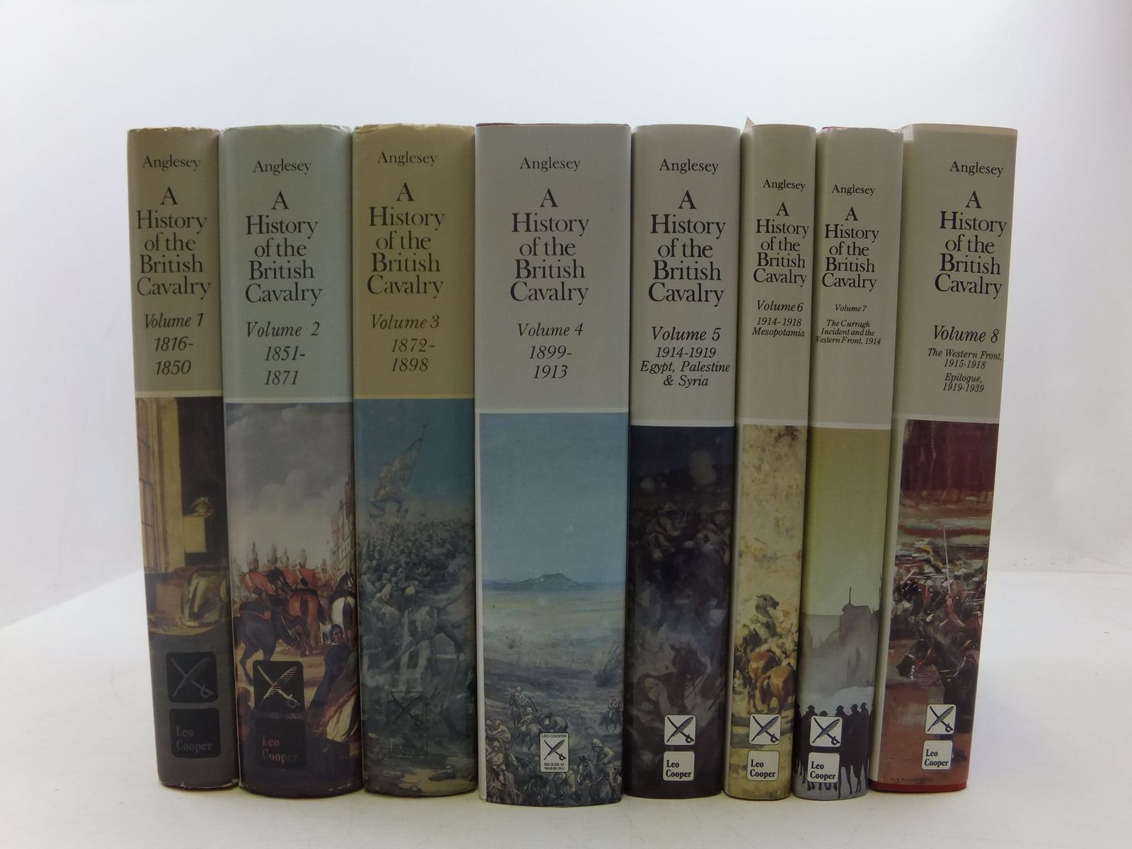 Photo of A HISTORY OF THE BRITISH CAVALRY 1816-1919 (8 VOLUME SET)