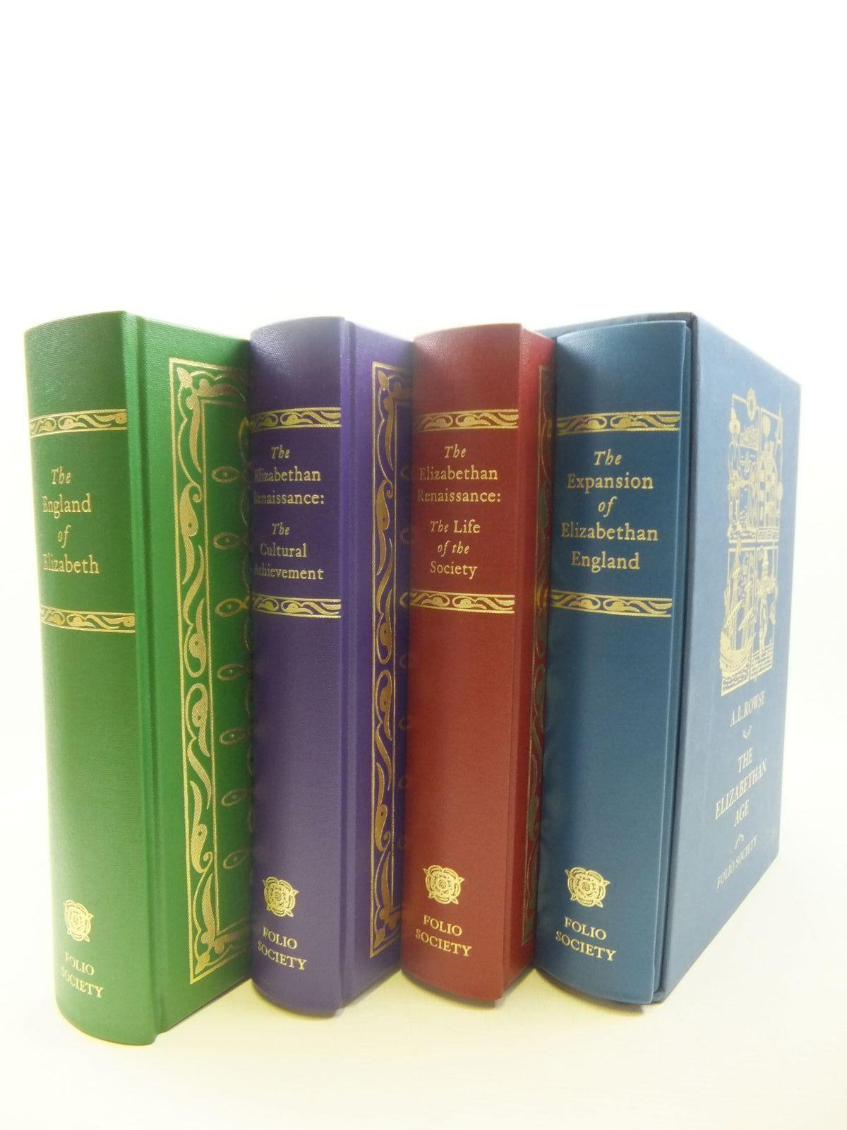 The Elizabethan Age (4 Volumes)