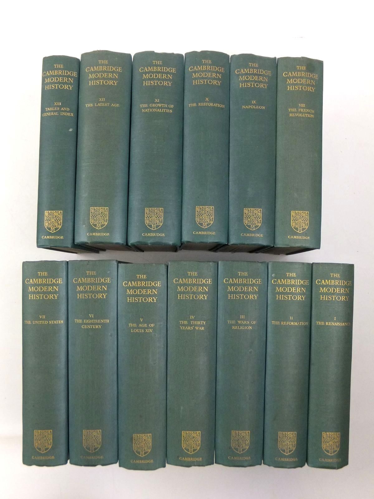 Photo of THE CAMBRIDGE MODERN HISTORY (13 VOLS)