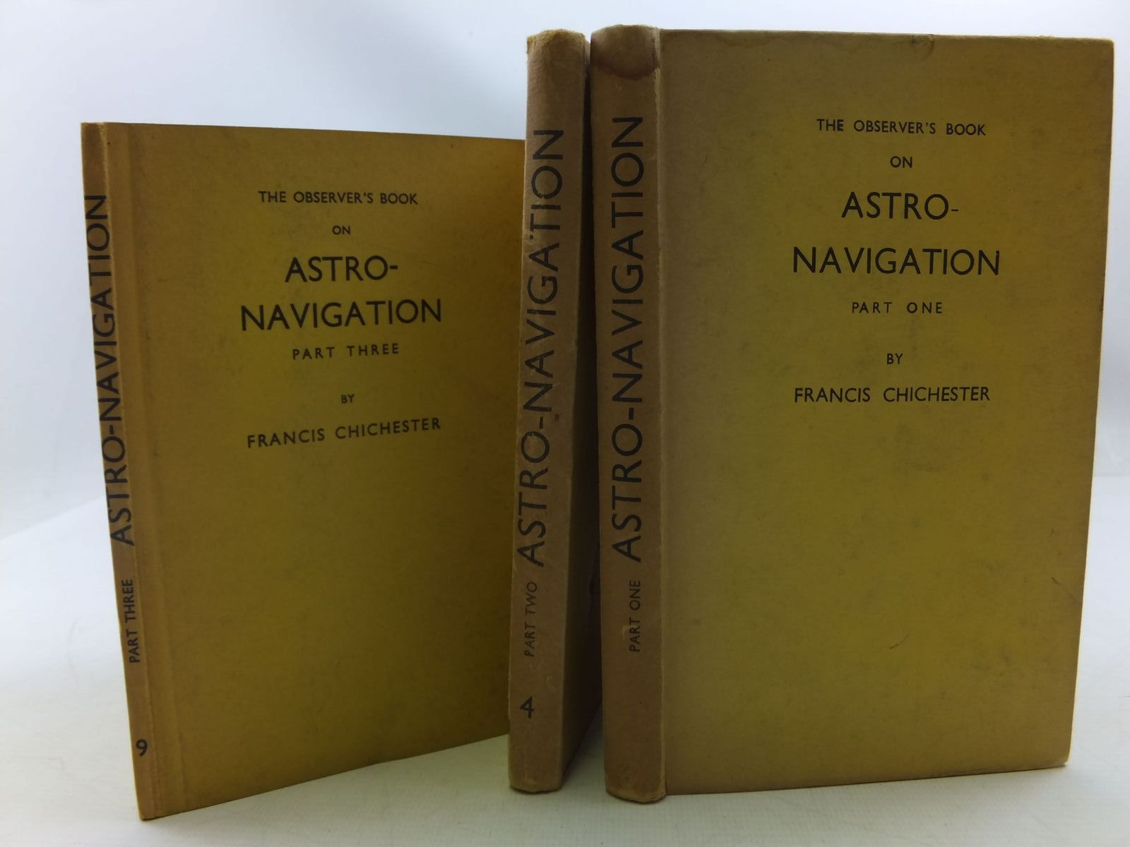 Photo of ASTRO-NAVIGATION (PARTS I, II AND III)