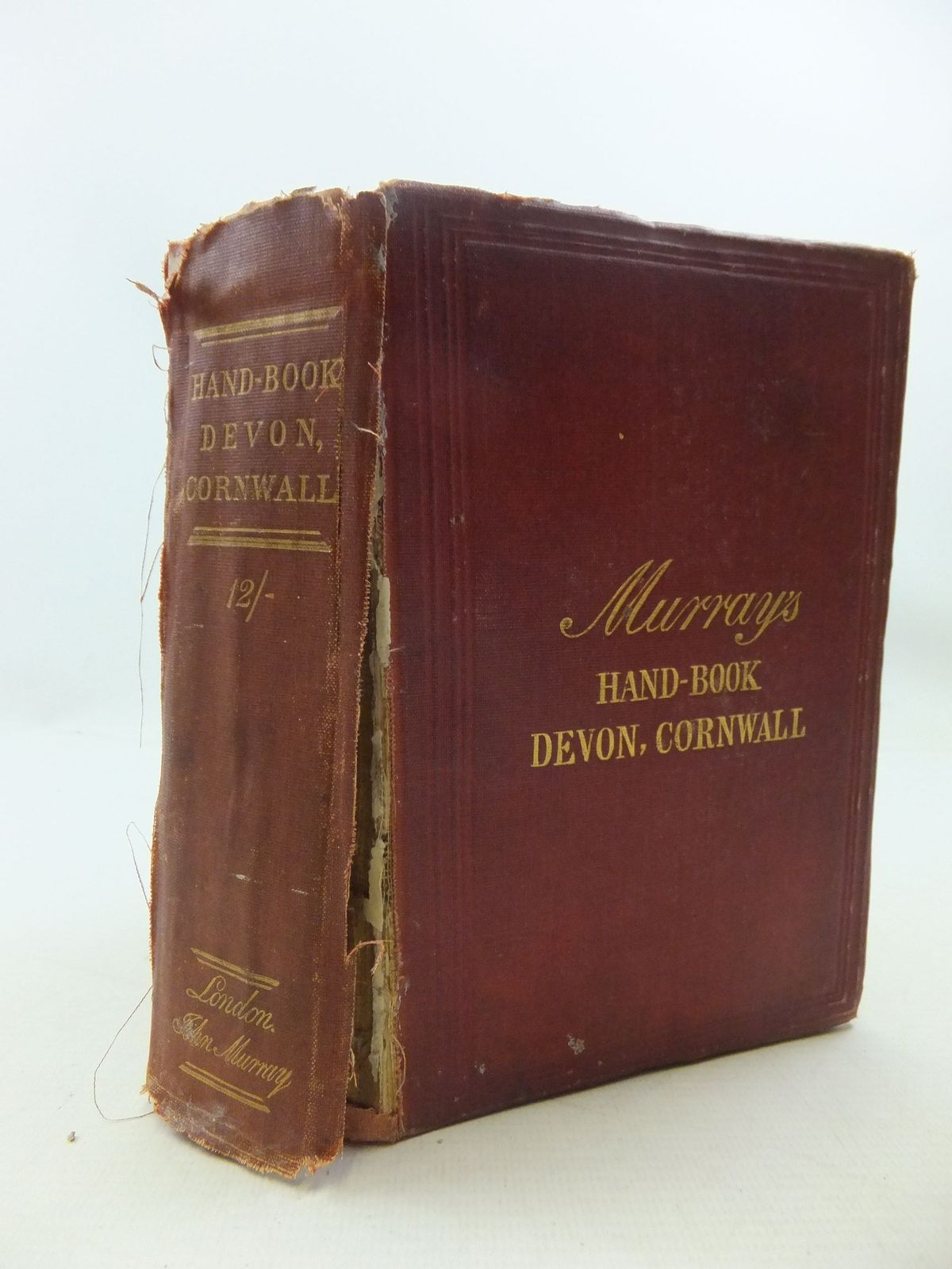 Photo of A HANDBOOK FOR TRAVELLERS IN DEVON AND CORNWALL